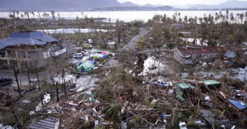 The devastation caused by Super Typhoon Haiyan is similar to that wreaked by the Asian Tsunami of 2004.